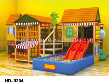 $39.00/Sq.m (HD-9304)Commercial Used Soft Indoor Playground indoor wooden playground equipment