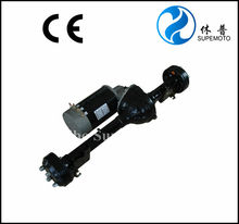 high performance electric golf cart motor and matching axle as well as speed controller