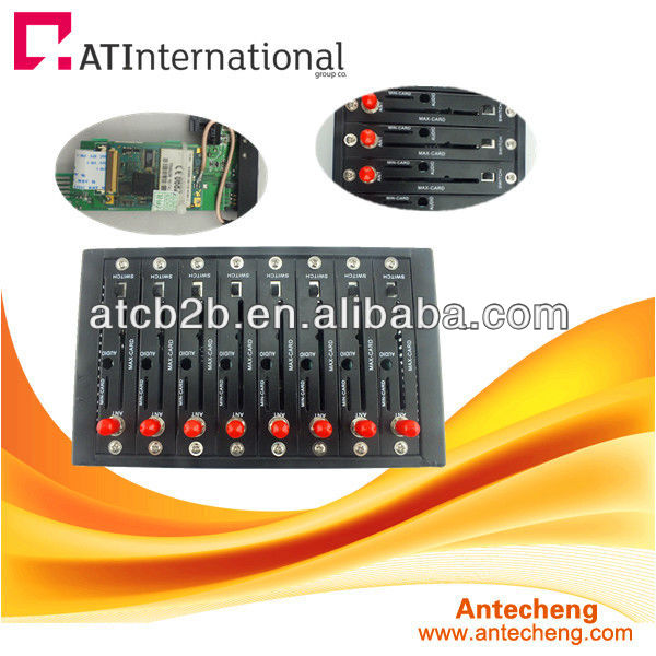 Advertising equipment 8 sim server sms gateway