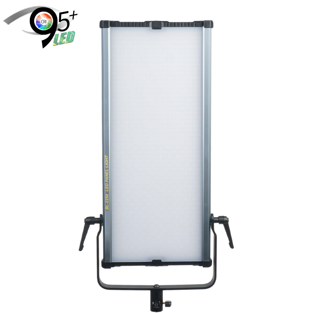 aluminum surface 72W digital display 95 cri video film shooting ultra slim led panel light