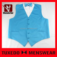 Fashionable Best-Selling casual blue waistcoat men