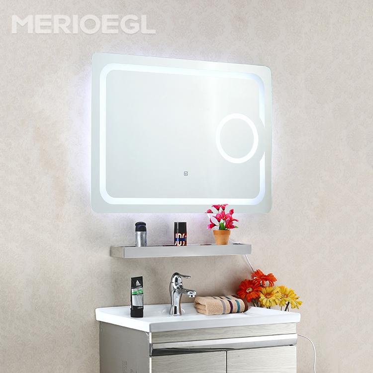 호텔 미러 터치 스위치 LED 화장대 거울 조명 욕실 조명 거울-목욕 ...