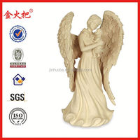 Hotsale angel figurine wholesale resin angle art minds resin crafts