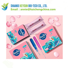 100% Certified organic cotton tampon and sanitary pad