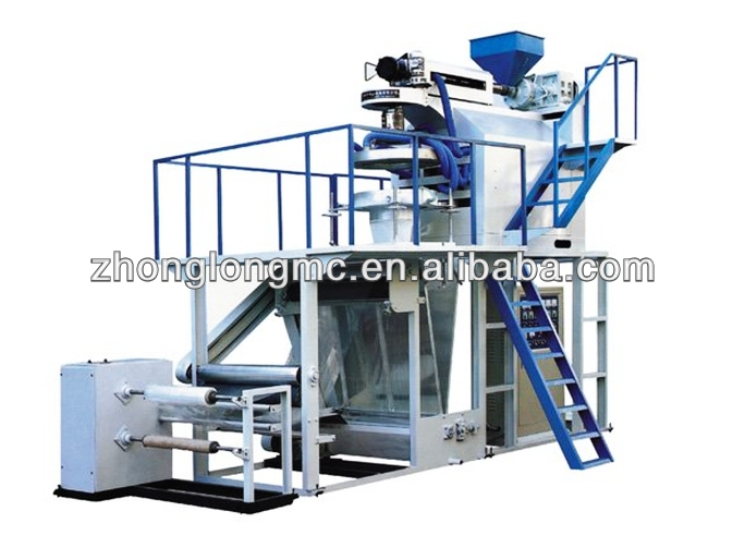 Blown Down PP Film Making Machine With Rotary Die