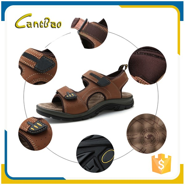 Fashion flat summer eva cheap wholesale leather mens sandals