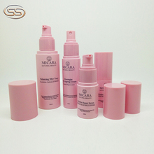 100% fresh material pet bottle 60ml 80ml cosmetics bottle collection for skin care packaging