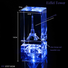 Modern Carve Crafts 3D Laser Engraved Crystal Cube blank crystal cubes for engraving