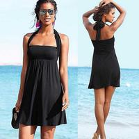 GC244 Summer latest fashion design His chest rubbed casual skirt Beach one piece Dresses