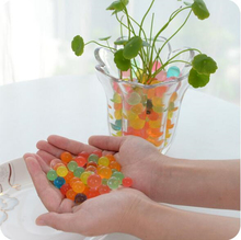 12 colors Crystal Soil For Plant Garden Decoration Orbeez Colorful ECO Water Gel Beads