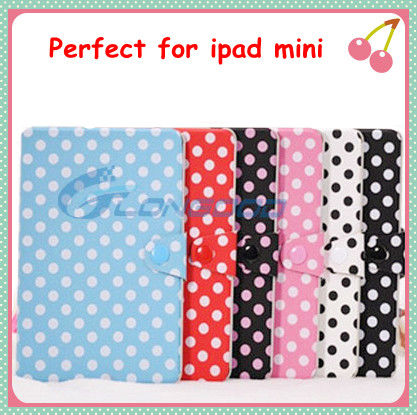 Cute Flip Cover Belt Clip Leather Case For iPad Mini