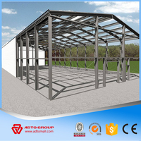 High Qualified Manufacturing Steel Structural Portal Frame with Construction Steel Beam and Column