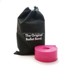 "45"" dancing stretch band high quality rubber ballet bands"