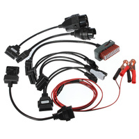 8PCS Adapter Cars Cables Set For Autocom CDP Pro Cars Diagnostic Interface Cable Free shipping