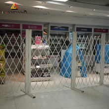 Expandable Metal Mesh Expanded Security Gates