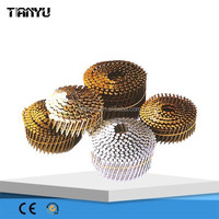 2015 supply newest ring shank coil nail for timber/nail factory