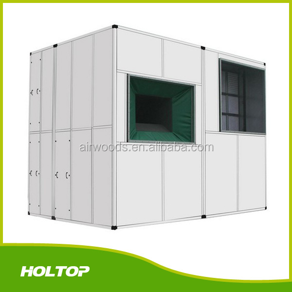 Energy recovery clean room use air handling unit