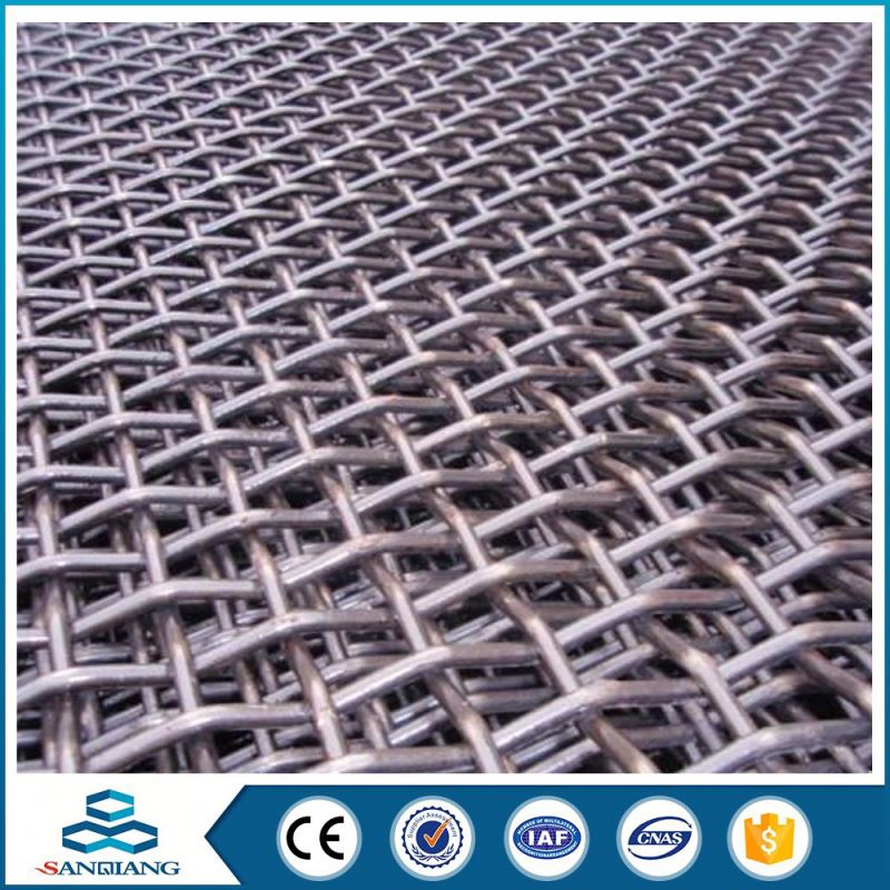 galvanized iron wire stainless steel barbecue crimped wire mesh
