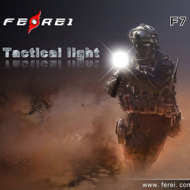3W CREE LED Police Rechargeable Flashlight