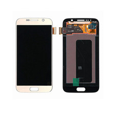 Grandever top quality lcd display for samsung galaxy s6 g920f gold