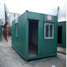 low cost prefab 40 ft modern shipping container house for rent