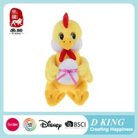 The soft made in China medical promotional gift animal plush chicken toy