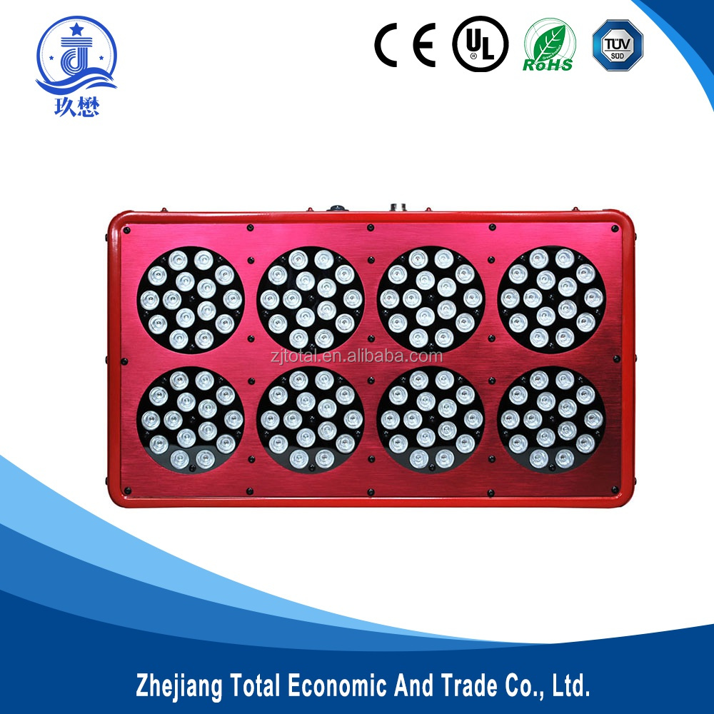 2015 High power led veg&bloom led grow light 9 band led light 300w with 3w led Epistar chips for greenhouse