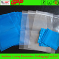 rust proof transparent zip lock plastic stand up bags