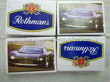 High Quality Rothmans Wooden Safety Matches