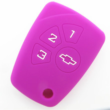 High quality 3 button car remote control case for Chevrolet key cover control case