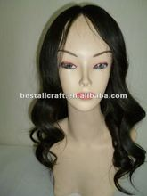 Indian virgin hair silk top injection full lace wig