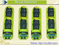 China supplier wireless alarm system 4 beams motion detector