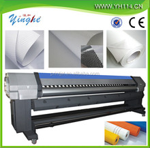 3.2m high speed digital large format flex banner/vinyl ECO solvent inkjet printing machine/printer price