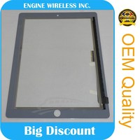 white color for ipad 4 touch glass