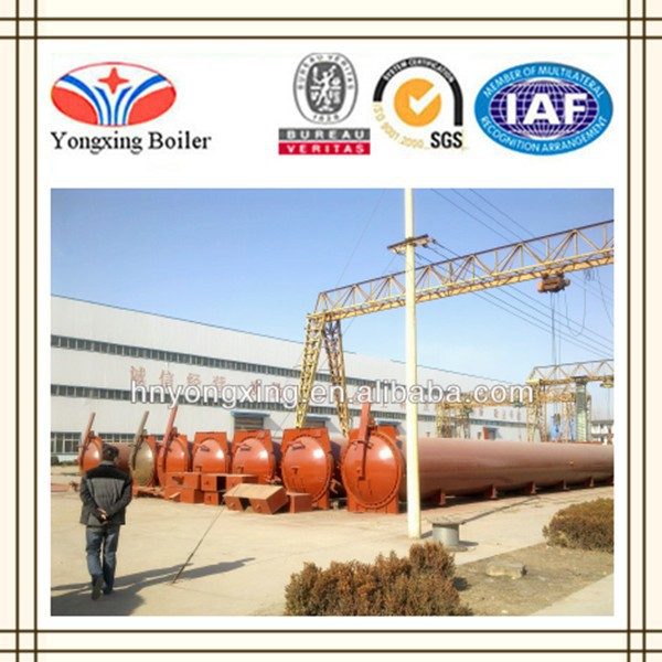 AAC Block Production Line Industrial Autoclave for Sale