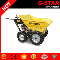 BY250 mini farm tractor 4x4 mechanical transmission mini tractor