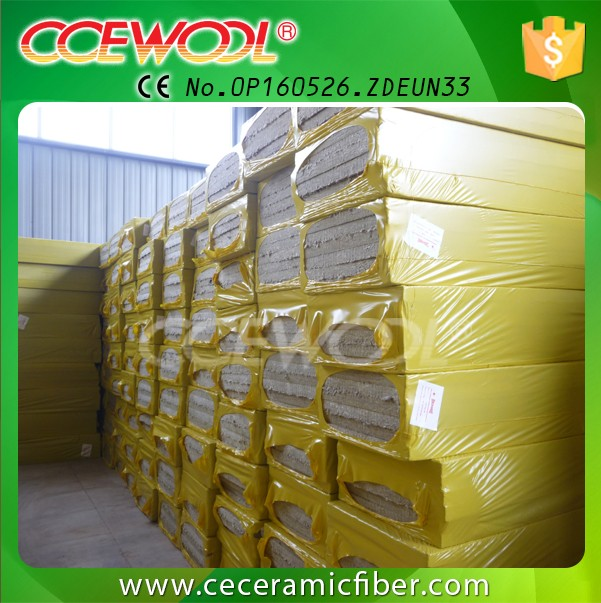 CCEWOOL Oil pipe rockwool insulation