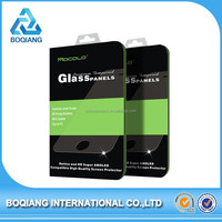 Crystal Clear retail package tempered glass screen protector 0.25mm for iPhone6 plus