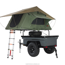 Small Offroad Camping Trailer With Rooftop Tent For Sale