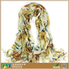 New style 100% merino wool scarves,warm long elegant cashew nut floral print tassel wraps and scarves styles