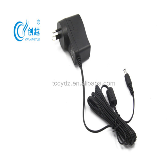 OEM switching power supply 5V1A 5V1.5A wall adapter with EU US AUS plug for surveillance cameras