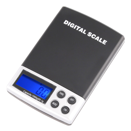 Mini Electronic Balance Weight Scale 1000g x 0.1g LCD Display Digital Jewelry Pocket Scale Weighing Scale