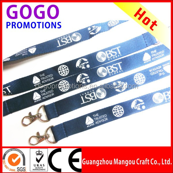 Top quality make your own lanyard design online with fast delivery, no minimum order & cheap price from chinese factory directly