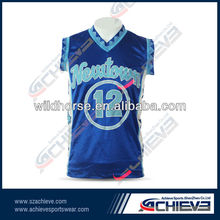 Chinese accessory of latest design basketball home away uniform