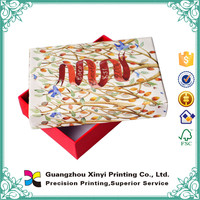 Customized high quality aesthetic luxury rectangle crafts coffee cardboard box