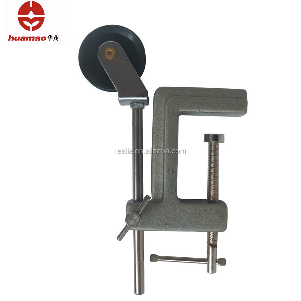 HM-PD006B Cast Iron and Plastic Pulley with Table Clamp for Physics Experiment use