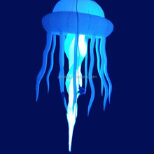 Inflatable LED jellyfish balloon, jellyfish lighting balloon for decorations C2007