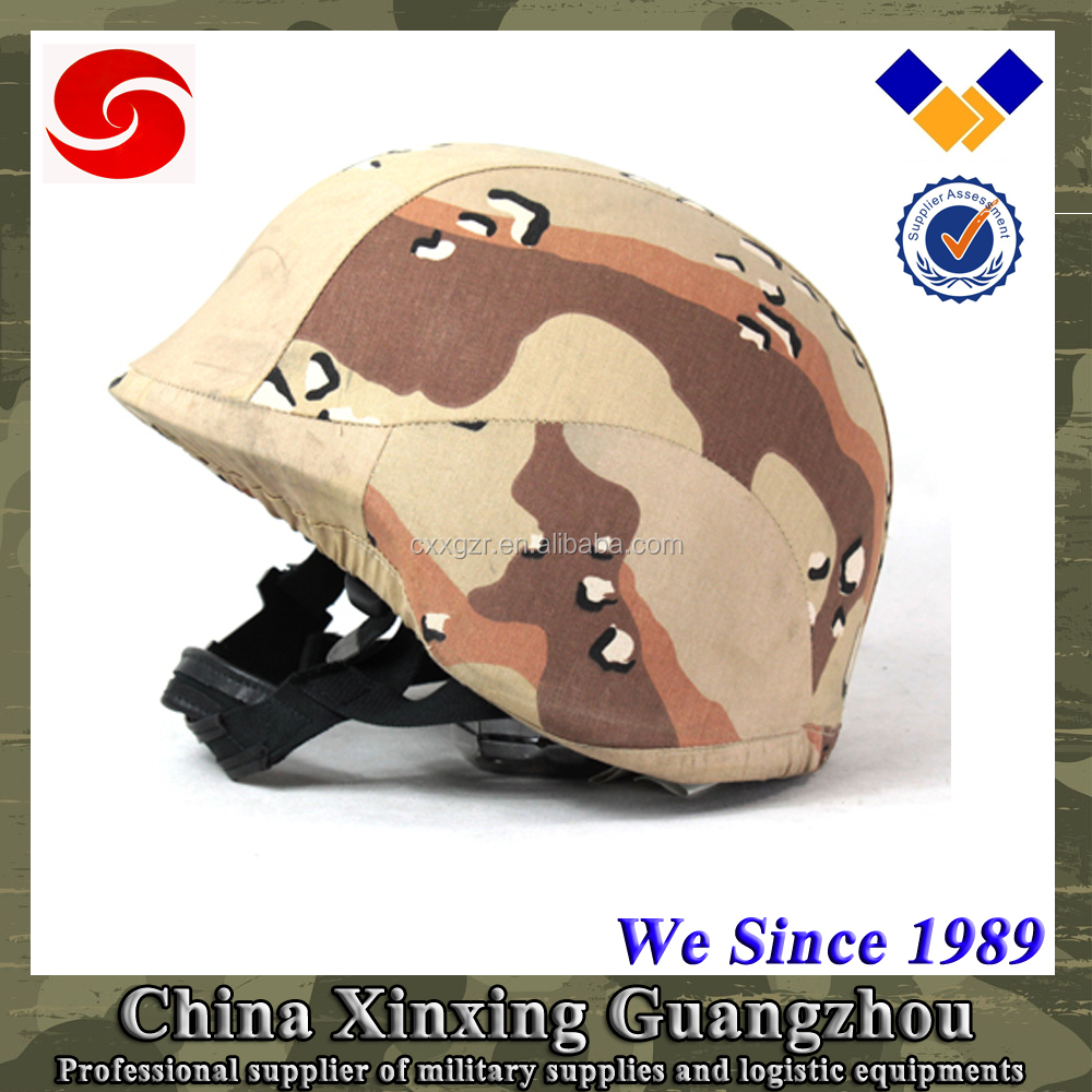 Camouflage Cover Tactical Aramid German Army Bullet-proof Helmet