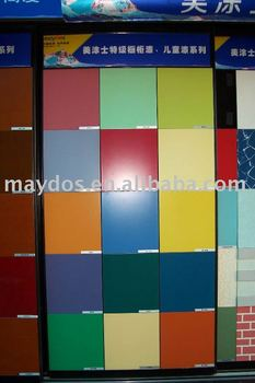 Maydos formaldehyde free wood paint for children' room decoration