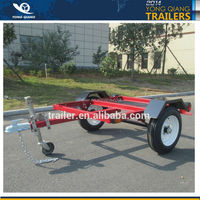 4' x 8 foldable trailer utility trailer